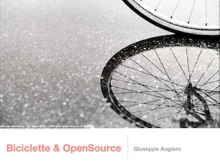Blender Worshop: Biciclette e Open source