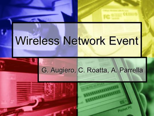 Slide: IPv6 Wireless-Voip Network Event
