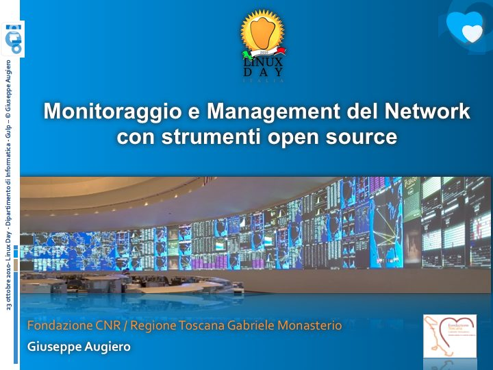 Monitoraggio e Management del Network con strumenti open source