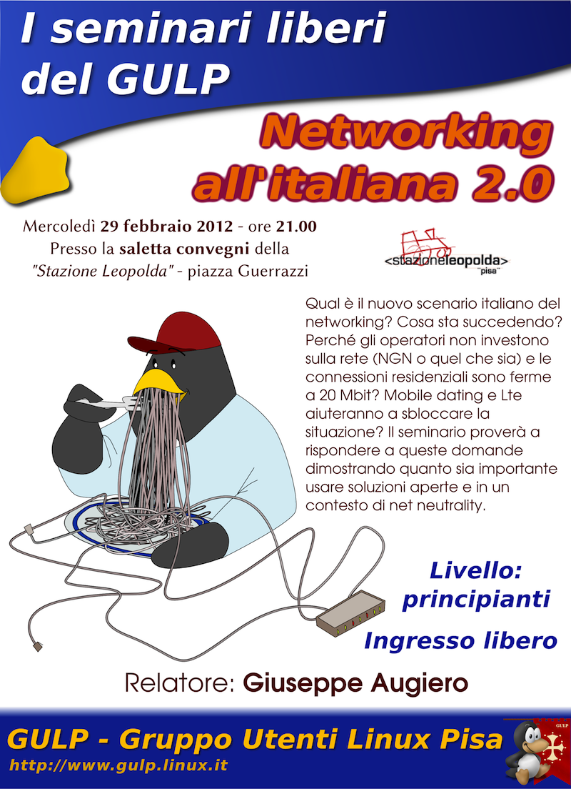 "Seminario: ""Networking all'Italiana 2.0"""