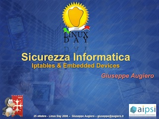 Sicurezza Informatica: Iptables & Embedded Device