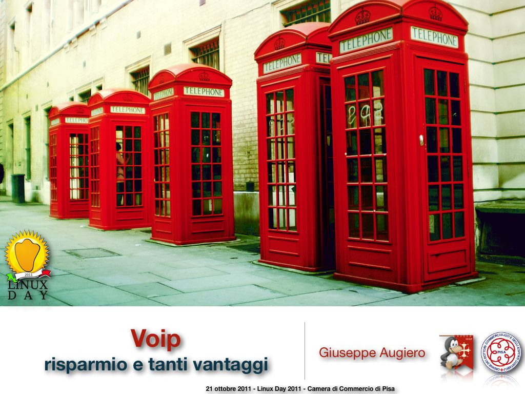 """Slide: """"Voip: risparmio e tanti vantaggi"""" – ODCEC – Camera di Commercio di Pisa"""