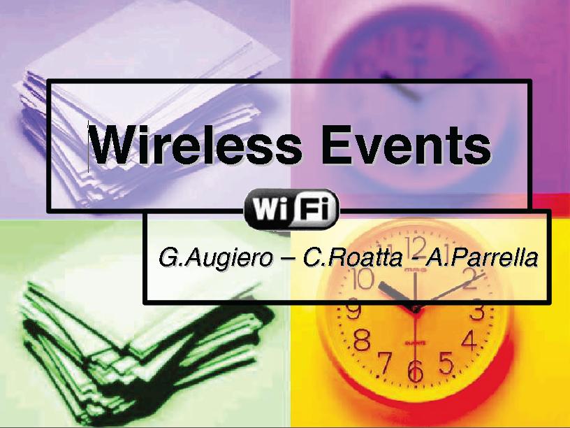 Slide: Wifi Party
