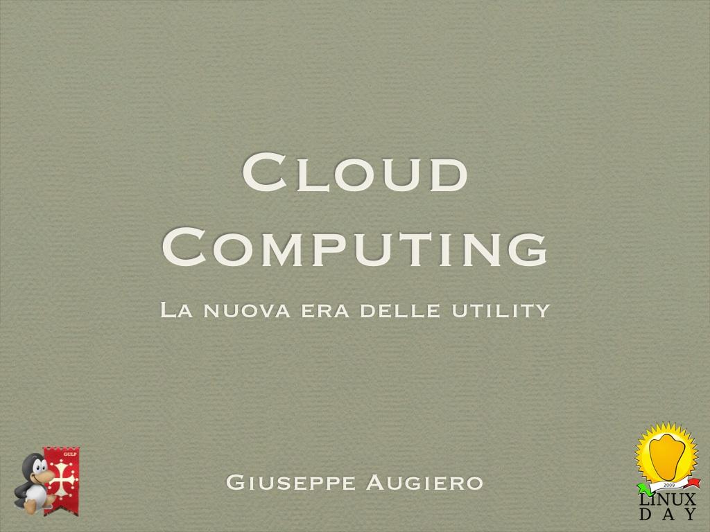 Cloud Computing: la nuova era delle utility