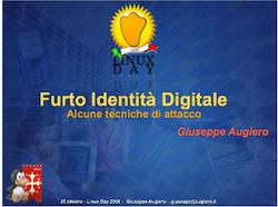 Furto Identità Digitale: alcune tecniche di attacco