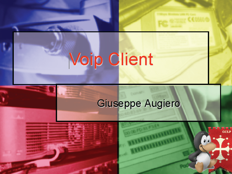 "Slide seminario: ""Voip Client"" – LD 2006"