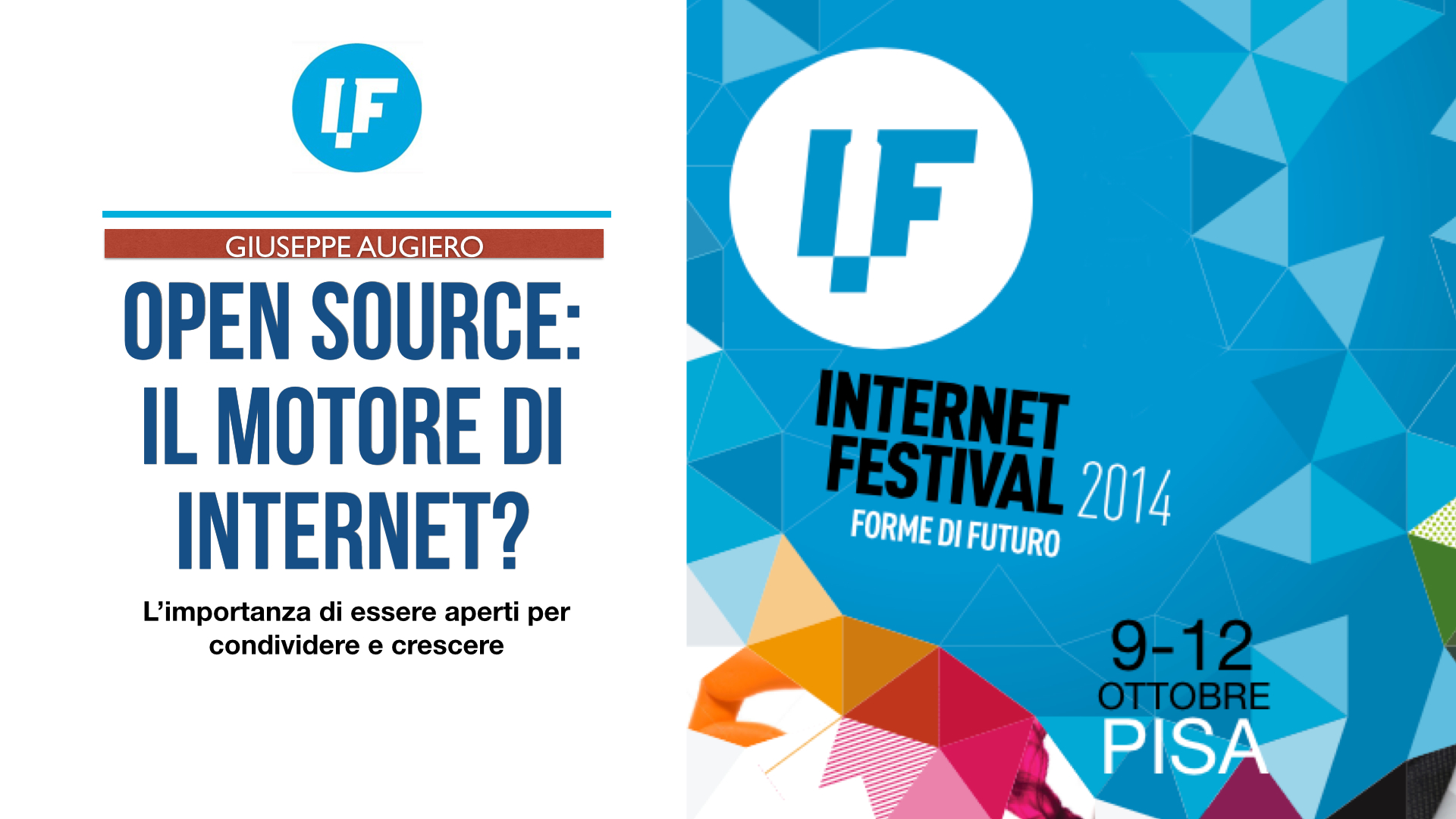 "Slide ""Open Source: il motore di Internet?"" IF2014"