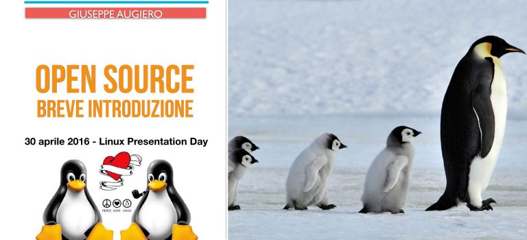 Linux Presentation Day – Open Source