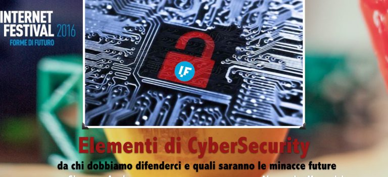 IF2016 – Slide: Elementi di CyberSecurity