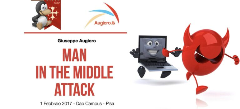 Slide: Man in the middle attack